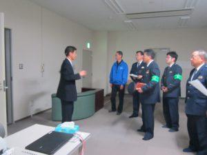 施設内の警備システムの説明