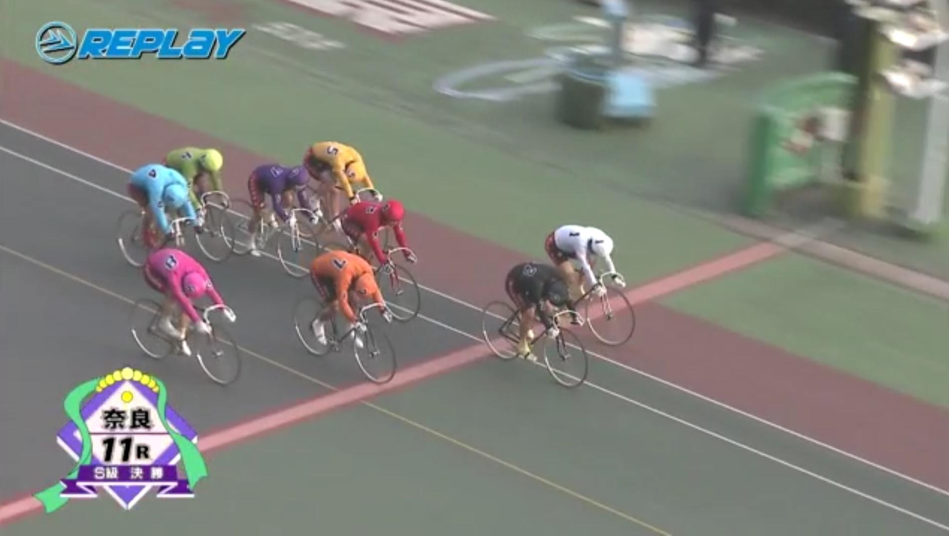 20180130奈良最終レースゴール映像